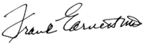Franklin Earnest IV MD Signature