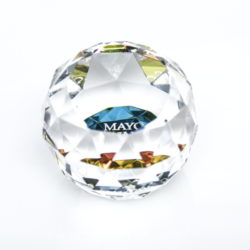 Crystal Prism Paperweight_